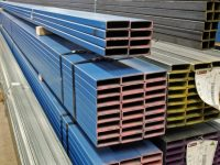 Tubular steel sections
