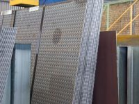Checkerplate steel